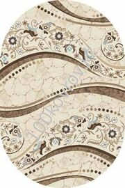 VALENCIA DELUXE_2.00*4.00_d312_CREAM-BROWN_oval